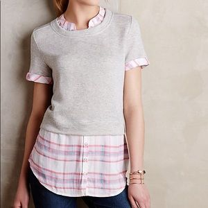 Cute Layered Top from Anthropologie!